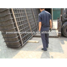 2.4x6m fábrica Reforçando a malha soldada aço
