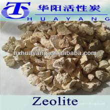 Minerai normal de zéolite de 1-2mm pour l'eau de chaudière
