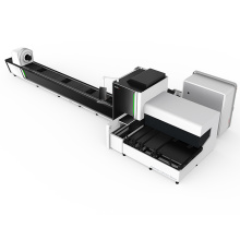 Metal tube 1000W laser cutting machine
