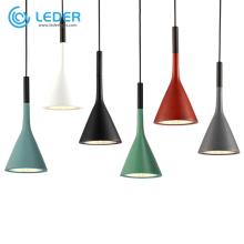 LEDER Led Hanging Concrete Pendant Lights