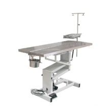 Vet equipment electric lifting veterinary surgical operation table