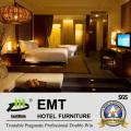 Modernos muebles de dormitorio acogedor hotel (EMT-HTB08-1)