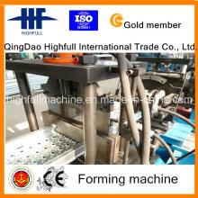 Plataforma de andamio Rollformer de la tabla lateral Pedal del pedal de la nave que forma la máquina