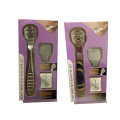 High Quality Wooden Handle Callus Shaver Set With 10 Pieces Replacement Slices