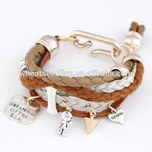 Bracelets en cuir hawaïen de mode