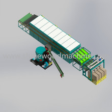 Machine de séchage de placage de noyau à vendre