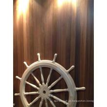 Direção hidráulica em madeira de cedro