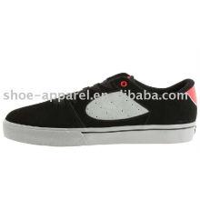 черные замшевые коньков обувь для человека