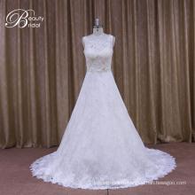 Более Элегантная Атласная Свадебное Платье Нижний Алибаба
