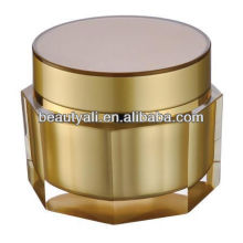 Octagon Empty Acrylic Cosmetic Jar