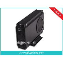 Ventilador grande USB3.0 3.5 pulgadas SATA HDD Enclosure