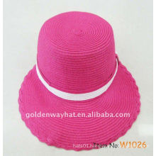 pink ladies sun visor hats