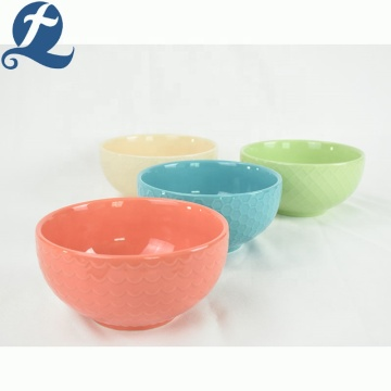 buntes Restaurantgeschirr Bowl Designs