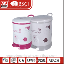HaiXing Popula waste basket with step