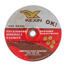 9′′ Flexible Depressed Center Dics&Grinding Wheel for Metal