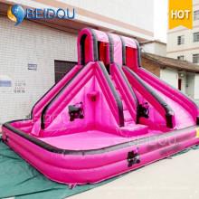 Popular inflável inflável da corrediça de água inflável