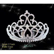 Reasonable & acceptable price factory directly tiara for men