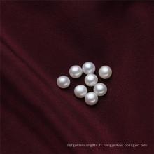 6.5-7mm Petites perles d'eau douce à moitié mûres