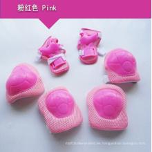Nuevo diseño Inline Skate Pink Protective Gear