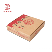 Fabrik direkt benutzerdefinierte Einweg Wellpappe Pizza Box Preis
