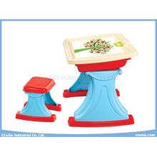Mesa de estudio con silla 2 en 1 para juguetes educativos para niños