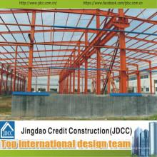 Entrepôt et bâtiment en acier à faible coût et de haute qualité