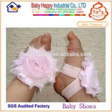Bébé bébé pied fleur couleur en option 1 dollar chaussures