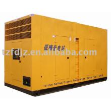Marco de bajo ruido 375KVA con grupos electrógenos diesel ATS