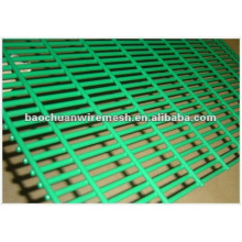 Green, black, Yellow, etc pvc coated welded wire mesh panel/PVC welded wire mesh