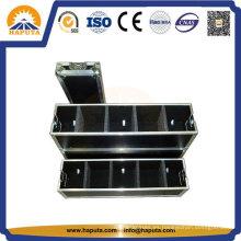Transporte personalizado profesional de aluminio caja de vuelo para almacenamiento