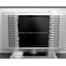 Embalaje del amortiguador de la bolsa de aire para la TV
