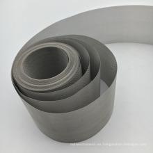 40 60 80 Mesh 304 430 904L malla de alambre de acero inoxidable para la fabricación de papel