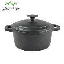 Cookware revestido esmalte europeu do ferro fundido / caçarola / potenciômetros / potenciômetros de guisado utensílio