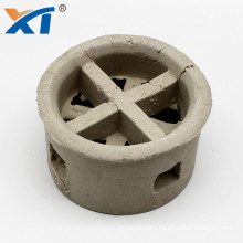Guangdong Xintao 25mm 50mm 76mm ceramic cascade mini ring for distillation column tower packing