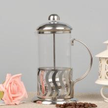 Presse à café française en verre résistant à la chaleur, Teamaker