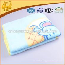 Soft Nursery Cotton Blanket Crianças com Receber Blanket Boy / Girl Swaddling Cobertores