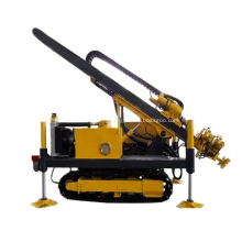 Tunnel construction jet grouting drilling rig jack leg