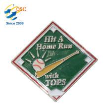 Logotipo chapeado a níquel do costume do crachá do Pin do esmalte duro engraçado feito sob encomenda barato feito sob encomenda