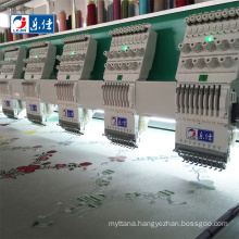 high speed 9 needle good quality industrial computerized flat embroidery sewing machines