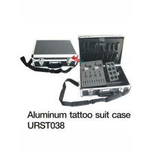 Günstige und praktische Aluminium Tattoo Kit Fall für Tattoo Maschine