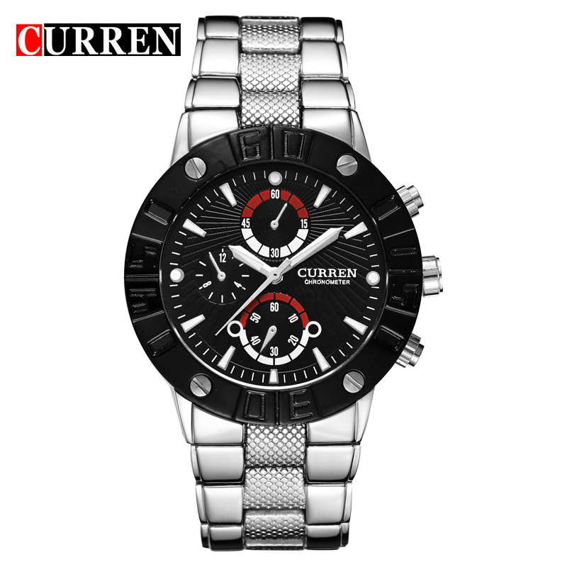 Stainless Steel Fashion Waterproof Quartz Watches