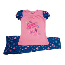 Summer Baby Girl Children′s Suit in Kids Clothing