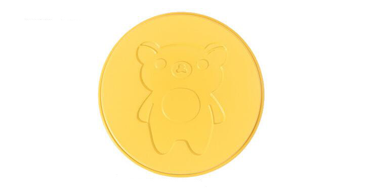 6 Inch Cartoon Bear Round Cake Mould 9