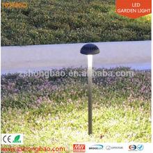 Luz al aire libre llevada jardín de la fuente del jardín del acero inoxidable 12w