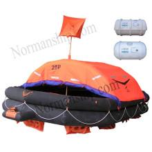 Type A lifesaving liferaft Solas 25 person throwing inflatable liferaft