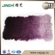 Whoelsale Mode lange Haare tibetischen mongolischen Lammfell Platte