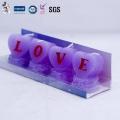 Handmade Heart Shaped Love Wedding Candle