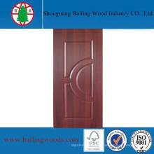 Piel moldeada de MDF para el uso de la puerta