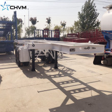 CHVM 2Axles 20Ft Skeleton Container مقطورة
