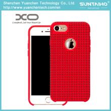 Casos de telefone de sílica gel OEM para 4.7 iPhone7 5.5 iPhone7 Plus